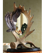 Northwoods Eagle Table Top Mirror Decoration - $22.95