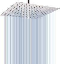 Rain Shower Head Rainfall Shower Head Made of 304 Stainless Steel Chrome... - $39.26