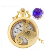Luxury Golden Tim Burton The Nightmare Before Christmas Luminous LED Quartz - $16.50