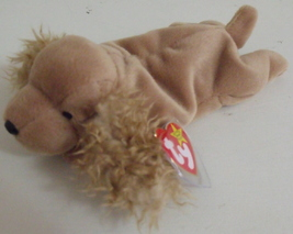 Ty Beanie Babies NWT Spunky the Cocker Spaniel Dog Retired - $9.95