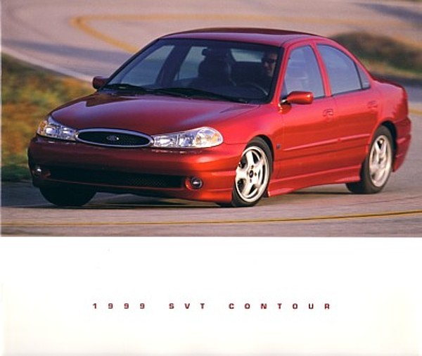 Primary image for 1999 Ford SVT CONTOUR deluxe sales brochure catalog 99 NICE