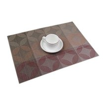 "Set of 4 Fashion Durable PVC Place Mats 18.1"" x 13""-Four Matching Placemats - £18.42 GBP"