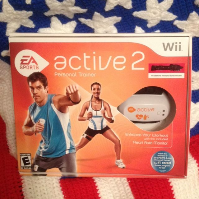 EA Sports Active 2  Personal Trainer Wii,  Brand New(Factory Sealed) New Low$$$!
