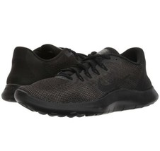 Nike Flex 2018 RN Mens AA7397-002 Black Dark Grey Knit Running Shoes Siz... - $65.44