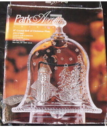 Park Avenue Crystal Bell of Christmas Plate New 8 inches - $14.95