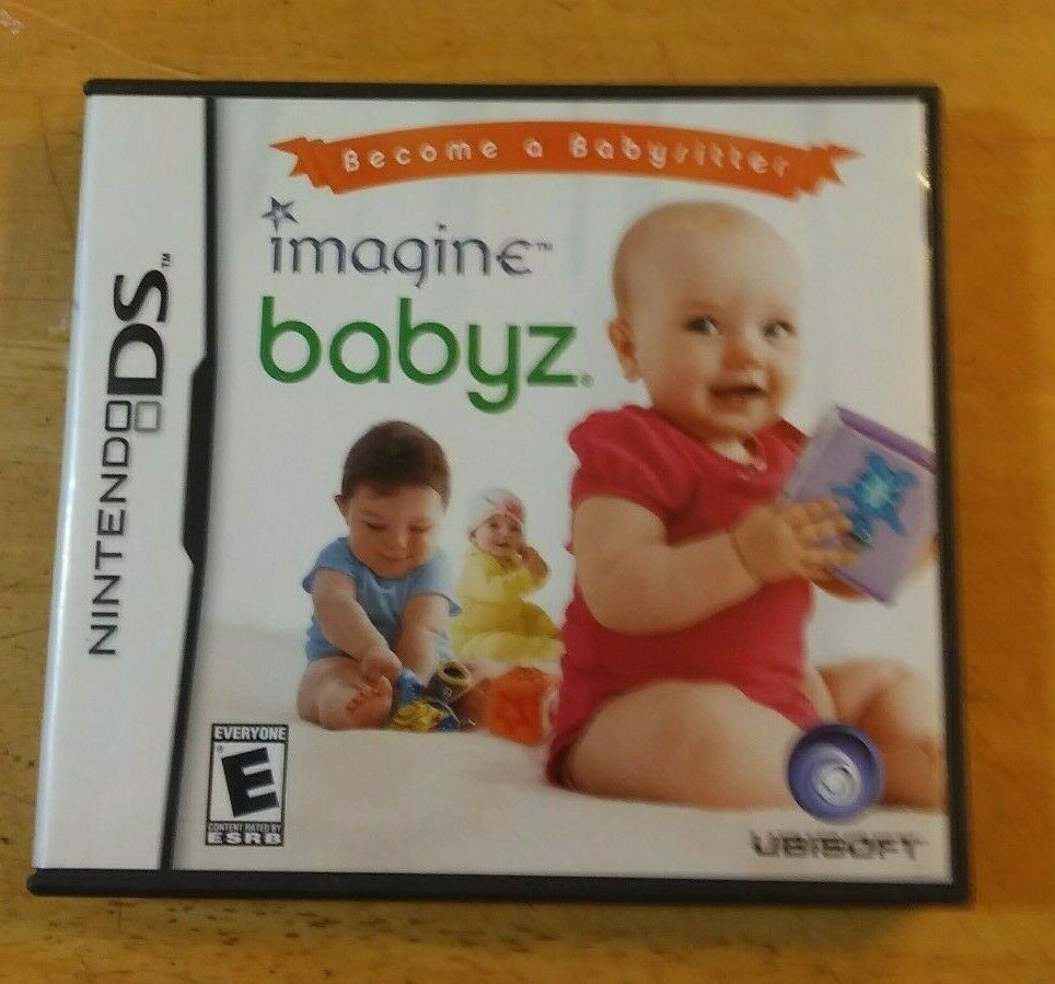 Imagine Babyz Nintendo DS Video Game 2007 Free Ship Case and Instructions Inc.