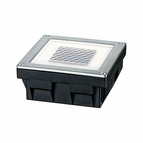 Paulmann 937.74 empotrable para Suelo, Solar, 0.24W LED, Acero Inoxidable, IP67