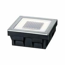 Paulmann 937.74 empotrable para Suelo, Solar, 0.24W LED, Acero Inoxidable, IP67 image 1