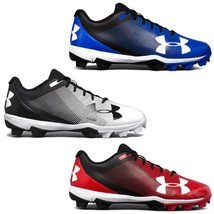 Under Armour Leadoff Low RM Men's Baseball Cleats Red, Team Royal or Bla... - $29.95