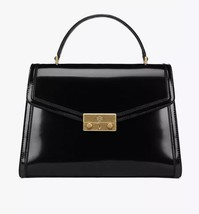 tory burch juliette top handle satchel Black $558 In Original Packaging - $399.00