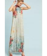 NWT ANTHROPOLOGIE MARILLA HALTER NECK MAXI DRESS by BHANUNI XL - $132.99
