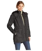 New Lauren Ralph Lauren Women Quilted Down Jacket Cream Size L Msrp$350 - $213.43
