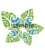 Colourful Leaves Cross Stitch Chart - $8.00