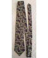 "Kenneth Stevens Mens Necktie Tie Classic Yellow Paisley 100% Silk 55"" x ... - $8.46"