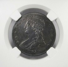 1839 NGC AU Details Capped Bust Half Dollar Certified Coin AK26 - $401.34
