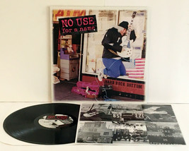 NO USE FOR A NAME hard rock bottom LP Vinyl Record with lyrics insert , ... - £19.11 GBP