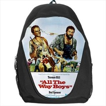 backpack all the way boys bud spencer terence hill school sport bag  - $39.79