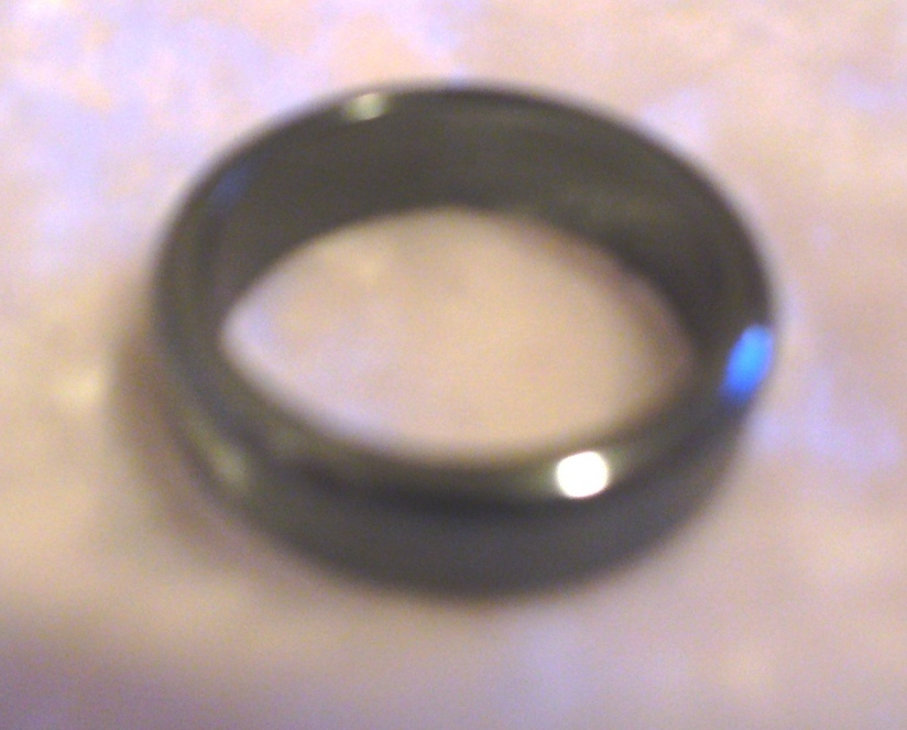 Primary image for Hematite Stone Band Ring