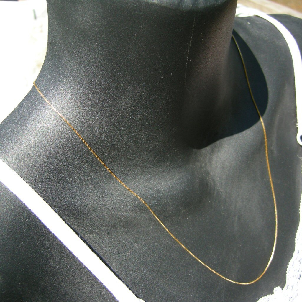 14k Yellow Gold Necklace 22 Inches Long