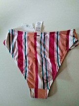 Roxy Beach Classics High Waist Swim Bottoms Size Medium image 2