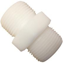 Nylon Hex Nipple with 1-inch Male NPT - $5.99