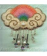 Elegant Bead Art Benson Rain Clouds&Rainbow Card Beading Kit - $38.99