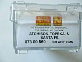 Micro-Trains # 07300560 Atchison, Topeka & Santa Fe 40' Standard Box Car N-Scale image 5