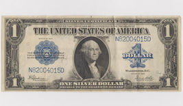 Nice 1923 $1 Dollar Silver Certificate Large Size Note - $79.95
