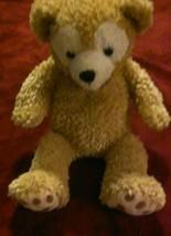 Disney Duffy Bear Hidden Mickey Plush Tan (H2) Teddy - $20.78