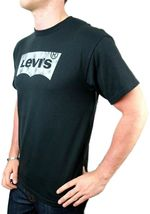 NEW NWT LEVI'S MEN'S PREMIUM CLASSIC GRAPHIC COTTON T-SHIRT SHIRT TEE BLACK image 3