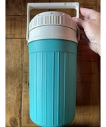 VINTAGE igloo 1/2 Half Gallon Water Jug Cooler - Turquoise Teal - $10.79