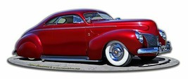 1939 Merc Kustom by Larry Grossman Plasma Cut Metal Sign - $35.00