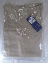 Cherokee Work Wear Core Stretch V Neck Scrub Top Khaki Size Small New in Package - $15.85