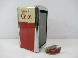 Coca Cola Napkin Dispenser Bottle Opener Have a Coke Vintage 1992 - $19.24