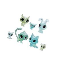 Littlest Pet Shop Frosted Wonderland Pet Friends Toy, Green Theme, Includes 7 - $27.99
