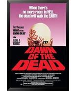 FRAMED George A. Romeros -Dawn of the Dean 1978 36x24 Zombie Movie Poste... - $67.31