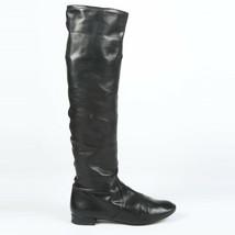 Prada Leather Knee High Boots SZ 36.5 - $185.00