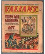 Valiant 12/2/1967-Fleetway-tabloid-firefighters-Steel Claw-Mytek-U.K.-G - $31.53