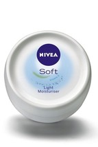 Nivea Soft Light Moisturiser Cream with Almond Oil 100ml 200ml FREE SHIP - $8.50+