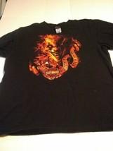 Harley Davidson 2XL Horror Shirt One Wicked Ride Clown Texas - $26.53