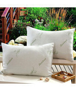 Comfortable New Hypoallergenic Organic Hotel Style Comfort Bamboo Memory... - $38.95