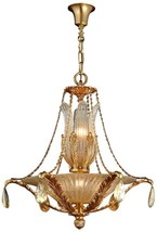 Pendant David Michael Lighting Round 10-Light Murano Glass - $7,579.00