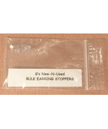 5 Pairs of Plastic Earring Stoppers for Posts o... - $7.00