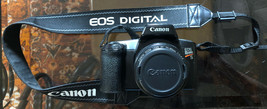 CANON EOS 1000F REBEL S Camera W/35-80mm Lens Used/Working As/Is Includes Strap. - $72.57