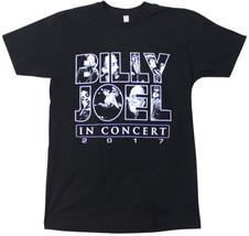 NEW BILLY JOEL 2017 U.S. TOUR T-SHIRT Medium Black Concert Tee NWOT ! Pi... - $21.03