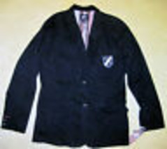 NWT AI AMERICAN ICON SPORTS COAT BLAZER Navy Blue Stripes Red White Blue... - $75.00