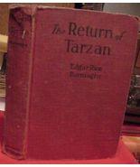 The Return of Tarzan Edgar Rice Burroughs Grosset & Dunlap - $18.99