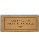 Australian Birds & Animals vintage guide book sepia prints 1920 30 - $9.00