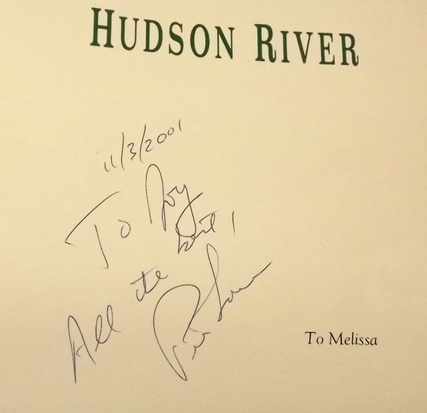 2 by Peter Lourie Hudson River and Amazon one book signed by author