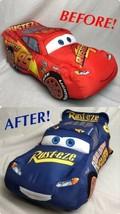 "⚡️Rare 20"" Fabulous Lightning McQueen Disney Plush-Rusteze Doc Hudson Ca... - $18.68"